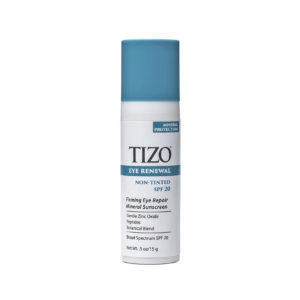 TIZO EYE RENEWAL NON-TINTED SPF2- MINERAL PROTECTION Firming Eye Repair Mineral Sunscreen Gentle Zinc Oxide Peptides Botanical Blend Broad Spectrum SPF 20 Net Wt. .5oz/15g