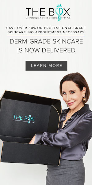 The Box Dermatologist Curated Skincare by Dr Ava giftbox Save over 50% on profesional-grade skincare. No appointment necessary. Derm-grade skincare is now delivered
